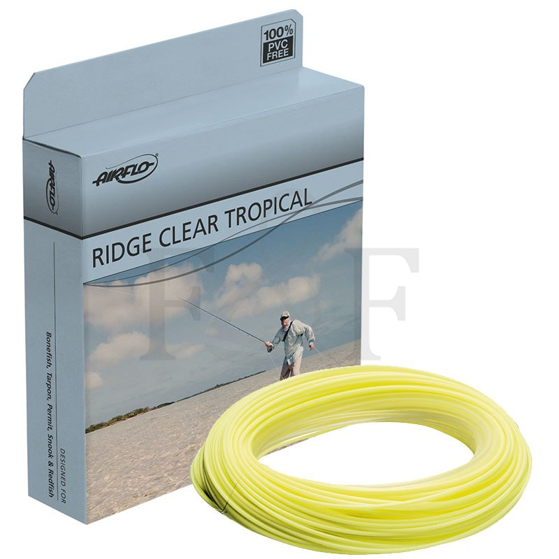 WF8F NEW FREE SHIPPING AirFlo Ridge Floating Clear Tip Tropical Long
