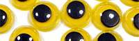 Mobile Eyes - 7 mm - Yellow