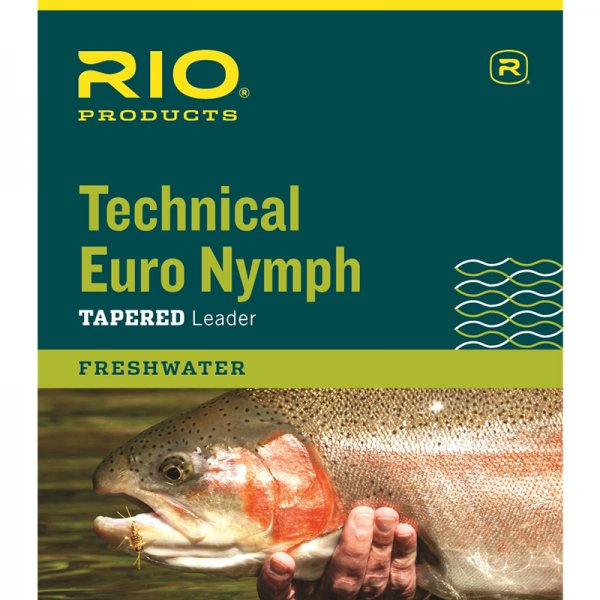 RIO® Technical Euro Nymph Leader 14'