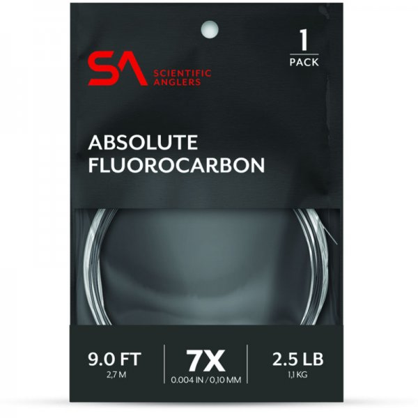 Scientific Anglers® Absolute Fluorocarbon Leader