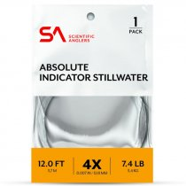 Scientific Anglers® Absolute Indicator/Stillwater Leader 12'