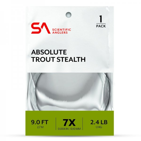 Scientific Anglers® Absolute Trout Stealth Leader