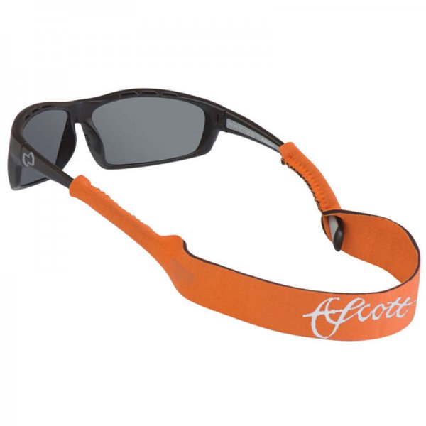 Scott® Neoprene Sun Glass Leash Orange Small End