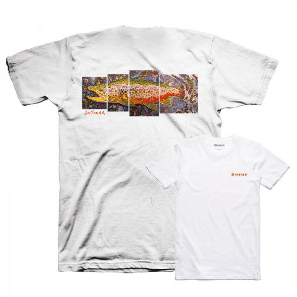 Simms® DeYoung Brown Trout T-Shirt
