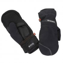 Simms® GORE-TEX Extream Foldover Mitt - Black - XS