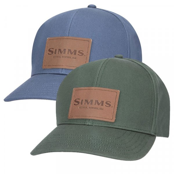 Simms® Leather Patch Cap