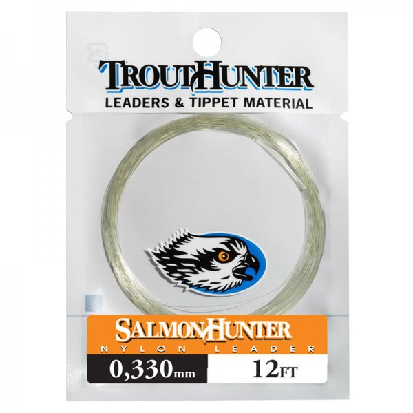 TroutHunter® SalmonHunter Nylon Leader 12'