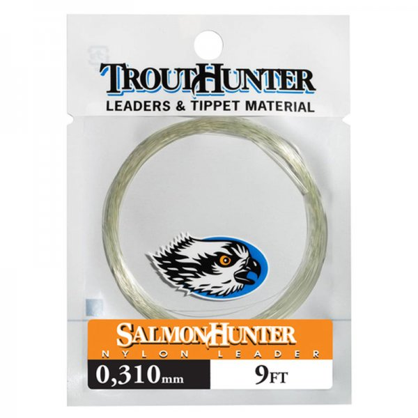 TroutHunter® SalmonHunter Nylon Leader 9'