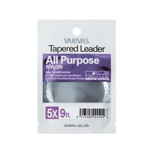 Varivas Tapered Leader Salmon /& Light Salt Water