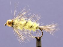 Wollyworm Chartreuse/Grizzly