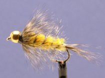 Wollyworm Yellow/Grizzly